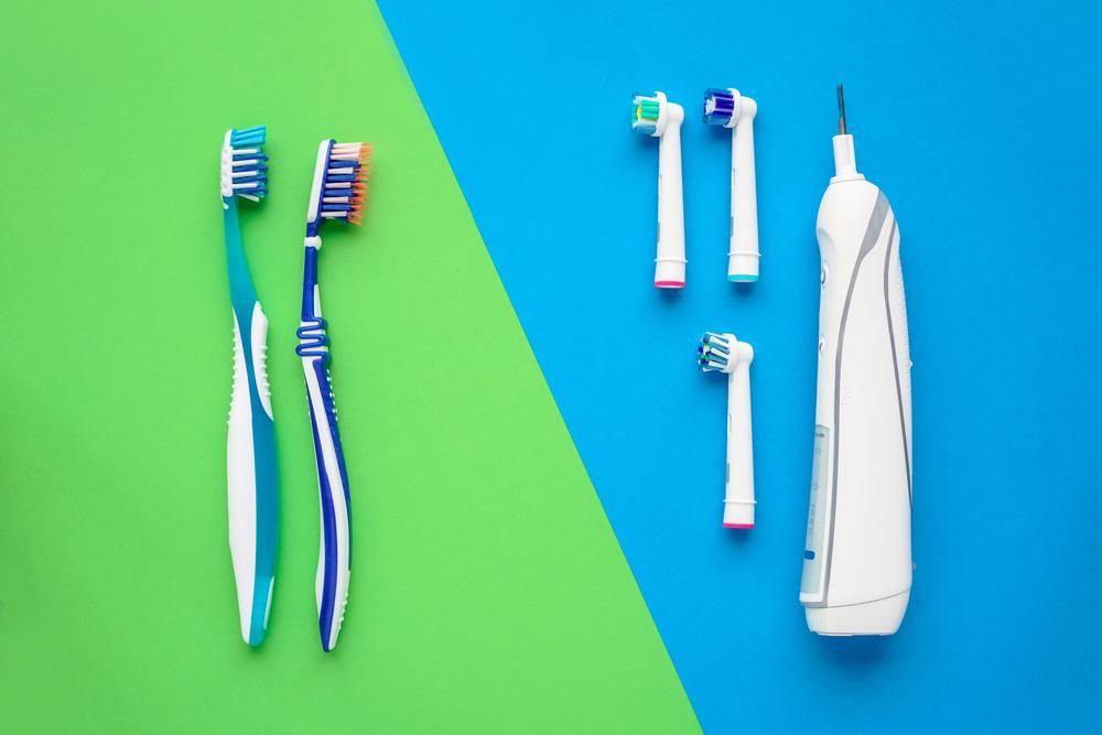 cepillo de dientes manual o eléctrico